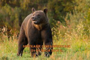 Spotkanie z niedźwiedziami 24 27 maja 2018 r. baner